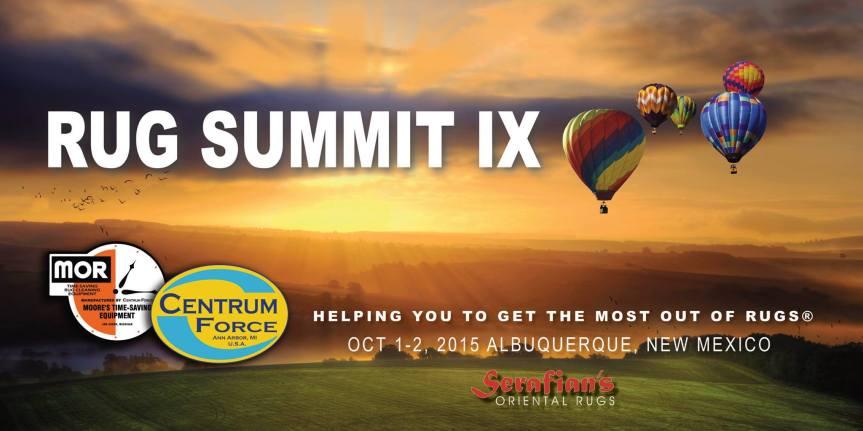 Serafian's is hosting Rug SummitIX