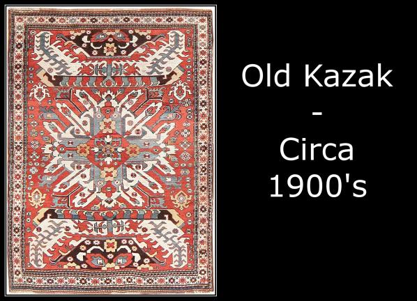 Old Kazak - Circa 1900's