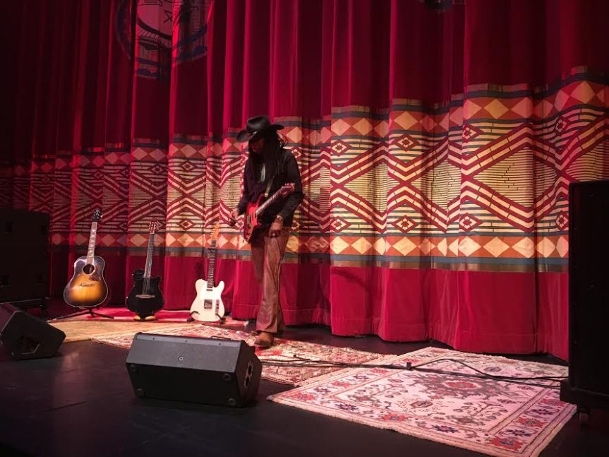 Larry Mitchell Music Video shoot – featuring Serafian's Rugs!