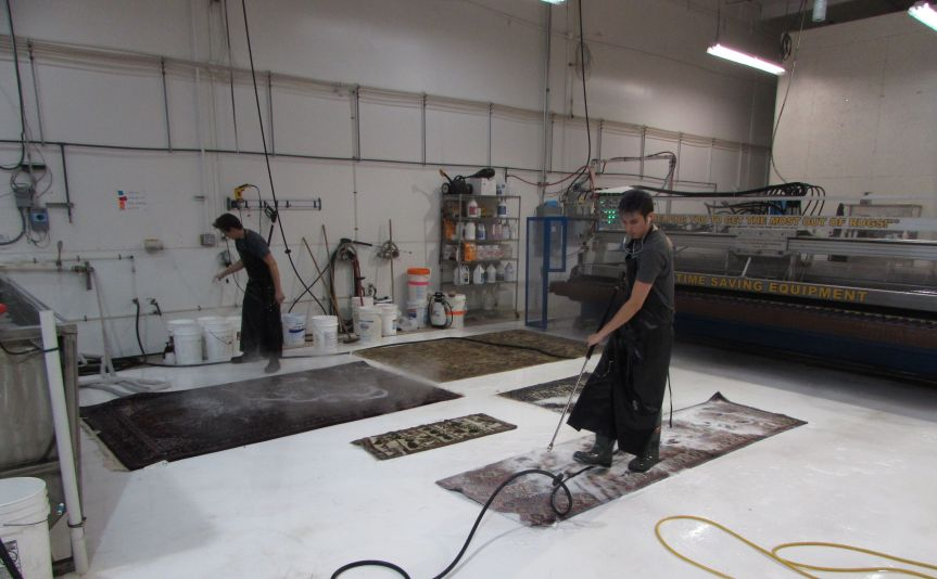 Take a (picture) tour of our washfacility.