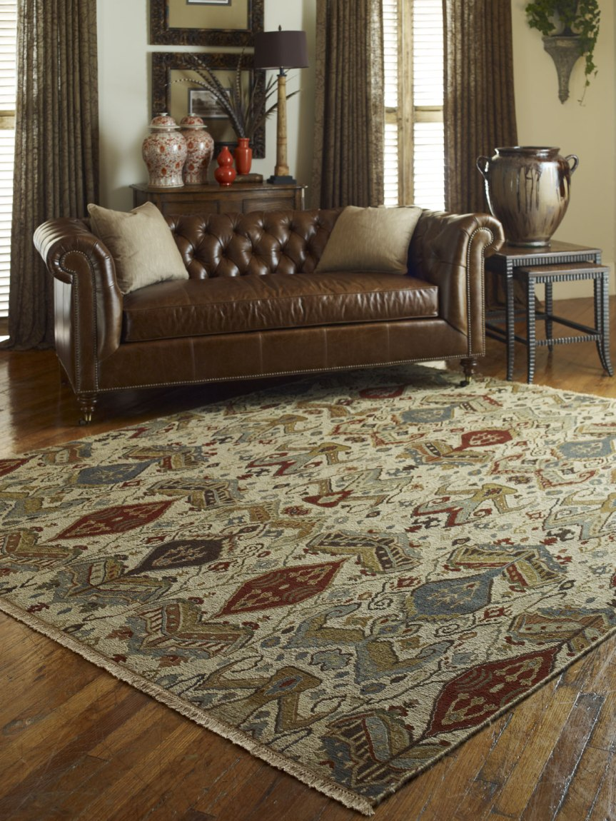 Transform A Room By Changing the Rug