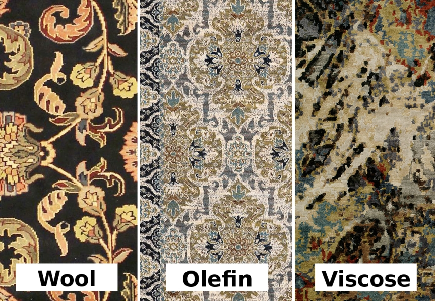Know your fibers! – What to look for and be aware of when shopping for your ideal rug.
